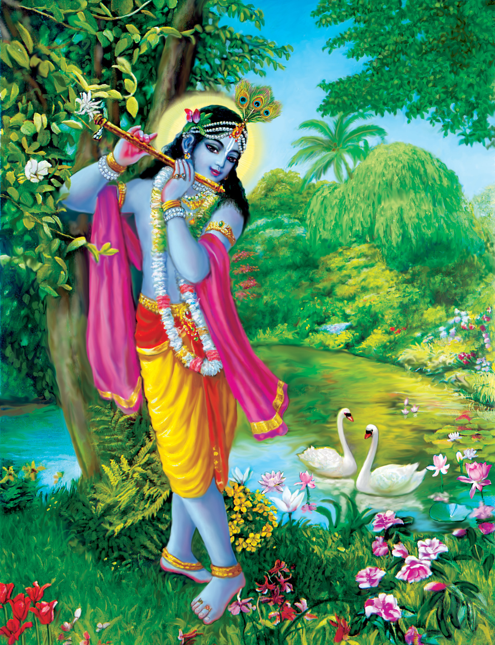 Bhagavad Gita: Of all yogis, he who abides in Me with great faith is the highest of all